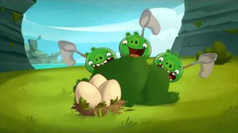 """Angry Birds Toons episode 11 sneak peek """"Slingshot 101"""""""
