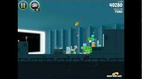 Angry Birds Star Wars 2-28 Death Star 3-Star Walkthrough