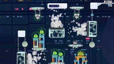 Angry Birds Star Wars 4-37 Cloud City 3 Star Walkthrough