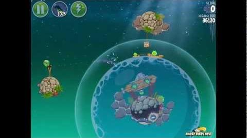 Angry Birds Space Pig Dipper 6-21 Walkthrough 3-Star