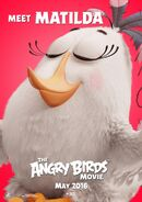 The Angry Birds Movie Character Poster 03