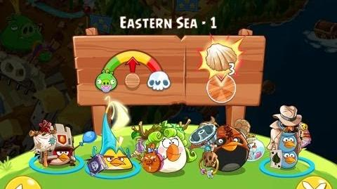 Angry Birds Epic Eastern Sea Level 1 Walkthrough
