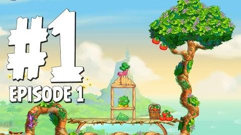 Angry Birds Stella Level 1 Walkthrough Branch Out Episode 1