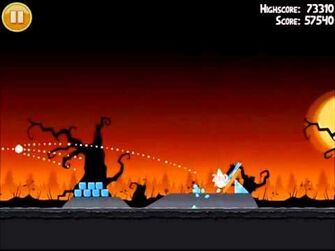 Official Angry Birds Seasons Walkthrough Trick or Treat 1-3