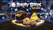 Angry Birds Seasons Loading Screen Ham Dunk