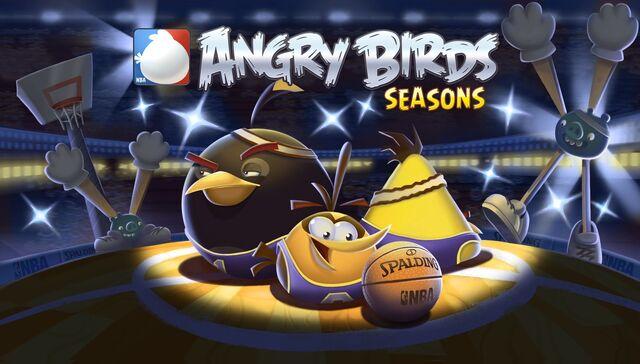 File:Angry Birds Seasons Loading Screen Ham Dunk.jpg