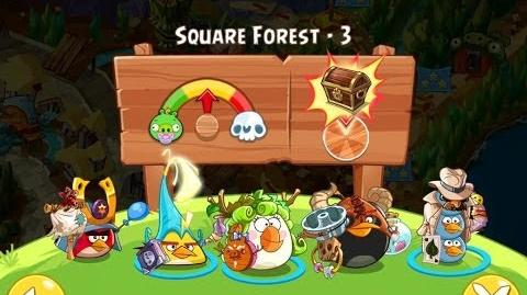 Angry Birds Epic Square Forest Level 3 Walkthrough
