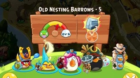 Angry Birds Epic Old Nesting Barrows Level 5 Walkthrough