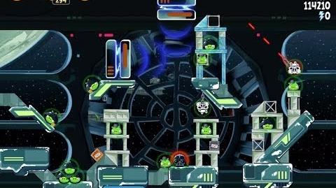 Angry Birds Star Wars 6-27 Death Star 2 Walkthrough 3 Stars