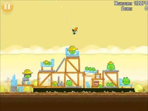 File:Official Angry Birds Walkthrough The Big Setup 11-1