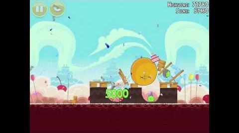 Angry Birds Birdday Party 18-4 Walkthrough 3 Star Birthday Party