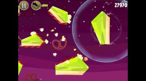 Angry Birds Space Utopia 4-6 Walkthrough 3-Star