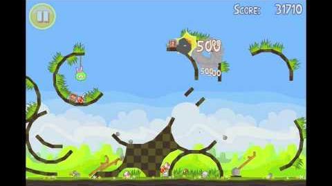 Angry Birds Seasons Easter Eggs Golden Egg 16 Walkthrough