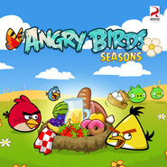 Angry-birds-seasons summer pignic