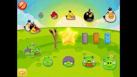 Angry Birds Golden Egg 4 Star Walkthrough Updated Version