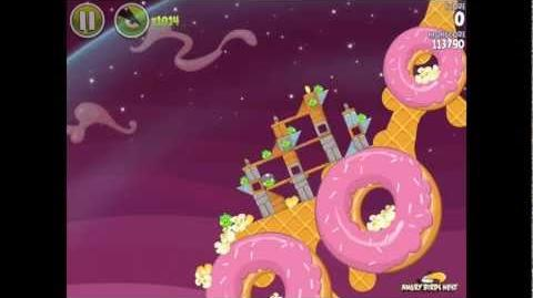 Angry Birds Space Utopia 4-11 Walkthrough 3-Star