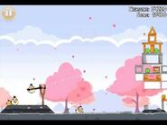 Official Angry Birds Seasons Walkthrough Hogs and Kisses 1-16