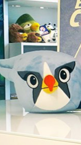 File:Angry Birds Silver Plush.png