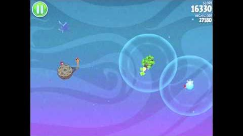 Angry Birds Space Fry Me to the Moon 3-1 Walkthrough 3-Star