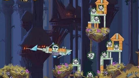 Angry Birds Star Wars 5-10 Moon of Endor 3 Star Walkthrough