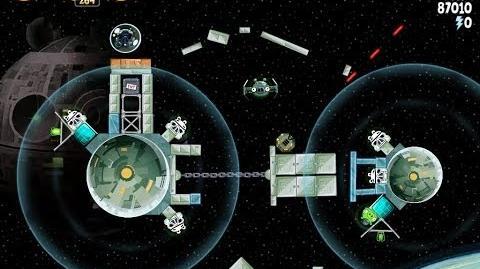 Angry Birds Star Wars 6-1 Death Star 2 Walkthrough 3 Stars
