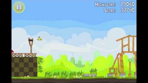 Angry Birds Seasons Easter Eggs Level 7 Walkthrough 3 Star