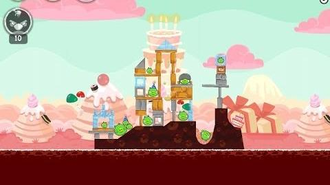 Angry Birds Birdday Party Cake 4 Level 7 Walkthrough 3 Star