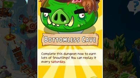 Angry Birds Epic Bottomless Cave Dungeon Walkthrough