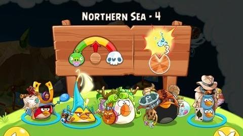 Angry Birds Epic Northern Sea Level 4 Walkthrough