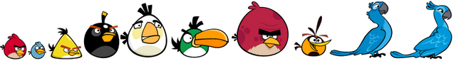 Archivo:8 Angry Birds with 2 Rio Birds.png