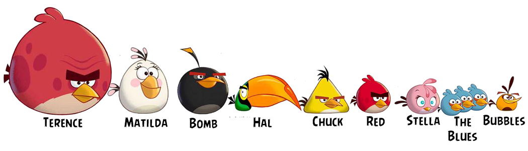 angry birds all characters - photo #14