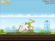 Official Angry Birds Walkthrough Mighty Hoax 4-5
