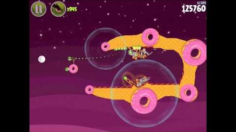 Angry Birds Space Utopia 4-27 Walkthrough 3-Star