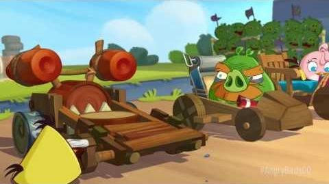 Angry birds Go! Еженедельный турнир! Гонка на Время