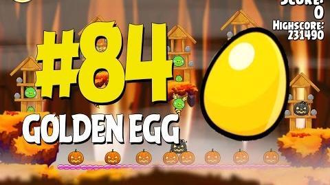 Angry Birds Seasons Hammier Things Golden Egg 84 Walkthrough