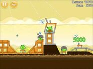 Official Angry Birds Walkthrough Mighty Hoax 5-2