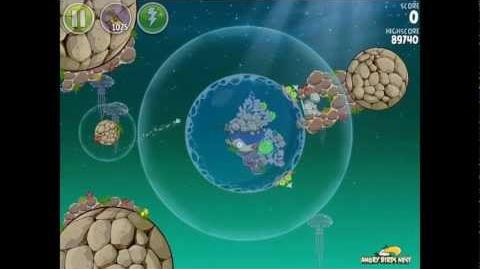 Angry Birds Space Pig Dipper 6-24 Walkthrough 3-Star