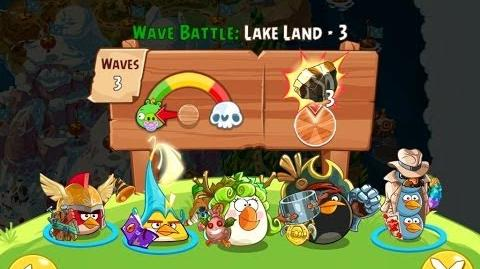 Angry Birds Epic Lake Land Level 3 Walkthrough