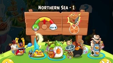 Angry Birds Epic Northern Sea Level 1 Walkthrough