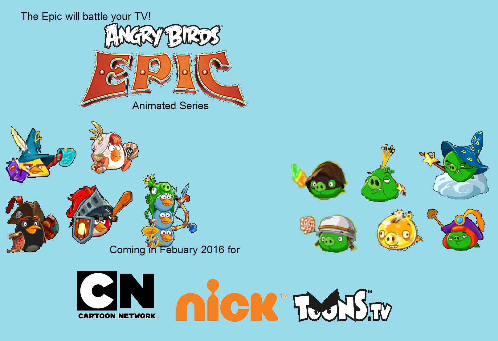Angry Birds Epic (TV Show) | Angry Birds Fanon Wiki ...