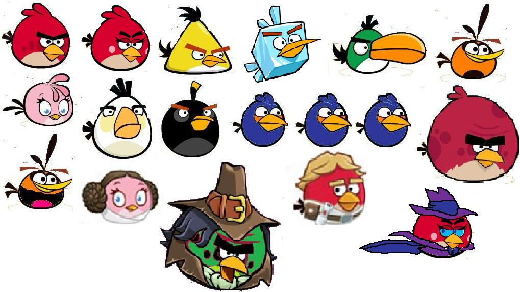 Image - RPG Characters.jpg | Angry Birds Fanon Wiki ...