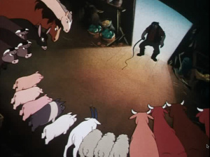 animal farm an animals rebelling against Animal farm ch 2 thematic and recall after major's death what happens to the idea of rebelling against what is the single cause that gets the animals to.