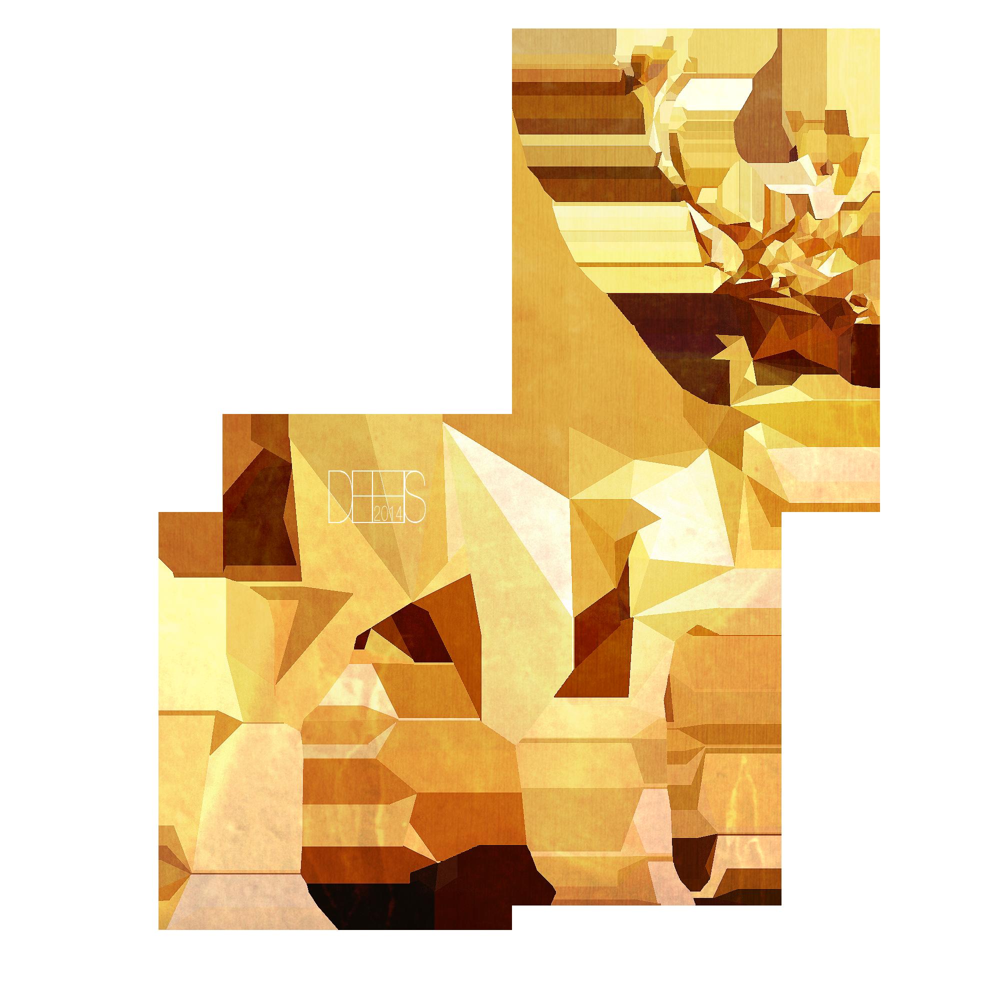 deer gray low poly - photo #24