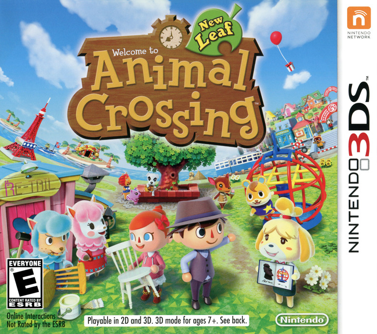 Animal Crossing: New Leaf   Animal Crossing Wiki   Fandom ...