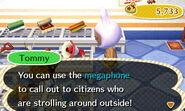 Megaphone obtain