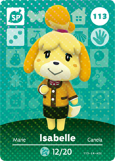 Amiibo 113 Isabelle