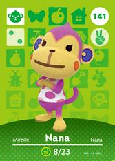 Amiibo 141 Nana