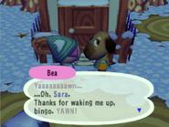 Waking up Bea