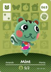 Amiibo 063 Mint