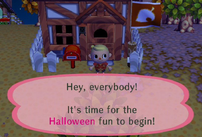 halloween animal crossing wiki fandom powered by wikia - Halloween Animal Crossing City Folk